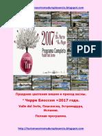 Cerezo en Flor 2017.Ruso