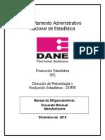 Manual de Diligenciamiento EMM (Enero 2017)