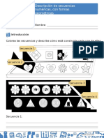 Descripción de Secuencias Numéricas, Con Formas Geométricas. (2)