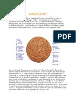 Zodiac Aztec