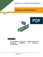 U1, Sensores y Transductores