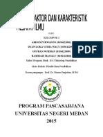 Faktor2 Dan Karakteristik Filsafat Ilmu