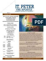 St. Peter the Apostle Weekly Bulletin 03-19-17