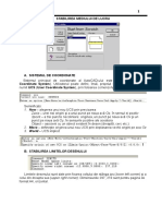 Utilizarea Aplicatiilor CAD