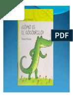 Libro Como Es El Cocodrilo