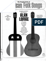 Alan Lomax Penguin Book of American Folk Songs[1] for Guitar