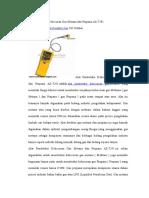 Alat Pendeteksi Kebocoran Gas Metana Dan Propana AZ