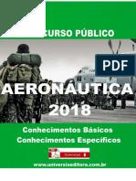 APOSTILA AERONÁUTICA EAOAP 2018 + VÍDEO AULAS