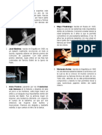 Bailarines destacados