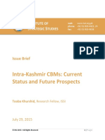 Final-Issue Brief Dated 29-7-2015 Kashmir Issue