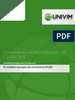 Modelos de Gestión de Calidad EFQM