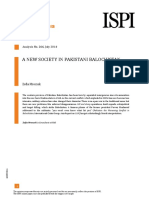 A New Society in Pakistani Balochistan