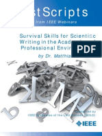 Postscripts From Survival Skills for Scientific Writing