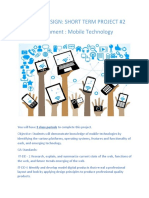 mobile technology assignment instruction sheet
