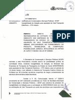 Modelo Parecer - Inexigibilidade Licitação - Monopolio - Art 25