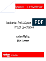 2007 C 1 Mechanical Seal System Reliability Through Specification