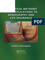 Estate v Khmaladze_ Leigh Roberts_ Mzia Khmaladze-Statistical Methods With Applications to Demography and Life Insurance-CRC Press (2013)
