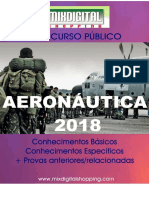 APOSTILA AERONÁUTICA EAOEAR 2018 ENGENHARIA CIVIL - 2 VOLUMES