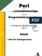 Perl - die Taschenkettensäge unter den Programmiersprachen - 2003