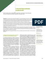 Trastorno por déficit de atención/hiperactividad