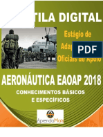 APOSTILA AERONÁUTICA EAOAP 2018 ADMINISTRAÇÃO + BRINDES.