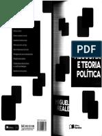 1,2 - Miguel Reale - Filosofia e Teoria Política - Diretrizes Do Culturalismo