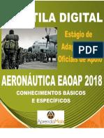 APOSTILA AERONÁUTICA EAOAP 2018 SERVIÇOS JURÍDICOS + BRINDES