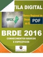 APOSTILA BRDE 2017 ANALISTA DE PROJETOS AGRONOMIA + BRINDES