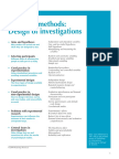 Research Methods Design of Investigations