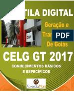 APOSTILA CELG GT 2017 ENGENHEIRO ELETRICISTA + BRINDES