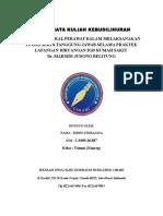 Ridho Fidrajaya, Tugas Kebudiliuhran, Nonreg (Umum)