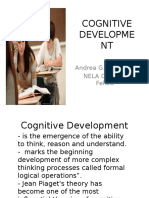 cognitive development high school