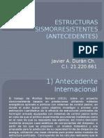 Javier Duran Antecedentes Estructuras Sismorresistentes