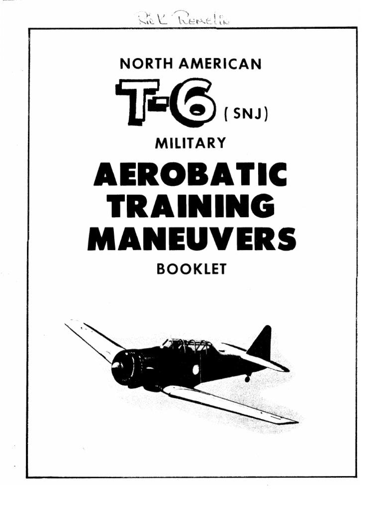 T-6 Aerobatic Training Maneuvers