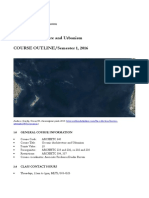 ARCHHTC 340 Oceanic Architecture Course Outline 2016-1