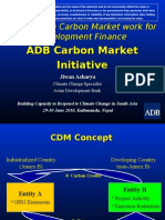 Making the Carbon Market Work for Development Finance