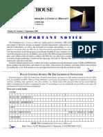 Vol. 18.- 3 September 2007