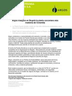 Argos Inaugura en Bogota La Planta Concretera Mas Moderna de Colombia 22-02-12
