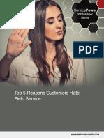 Top 5 Reasons Customer Hate FS