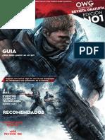 Revista Ohwellgame Edicion 1 digital por Dsieñador (Eduardo Granizo)