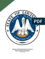 Louisiana Sentencing Report - Final