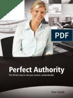 Perfectauthority Userguide En