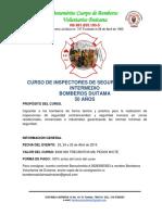 Curso de Inspectores de Seguridad Nivel Intermedio Bomberos Duitama