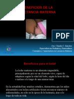 4- Beneficios de La Lactancia Materna