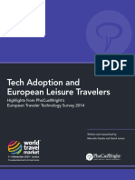 2014 PhocusWright Tech Adoption and European Leisure Travelers