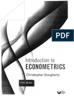 Introduction to econometrics - Christopher Dougherty