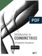 Introduction to econometrics - Christopher Dougherty