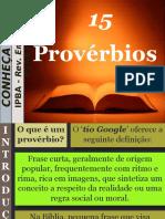 15 - Provérbios