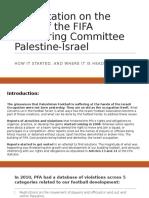 MATF Presentation - Work of FIFA Monitoring Committee