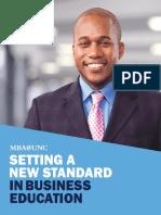 MBA UNC Brochure 2016